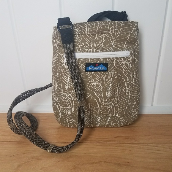 f97ca4bd6fb Kavu Bags | Keepalong Rope Cross Body Purse Floral | Poshmark